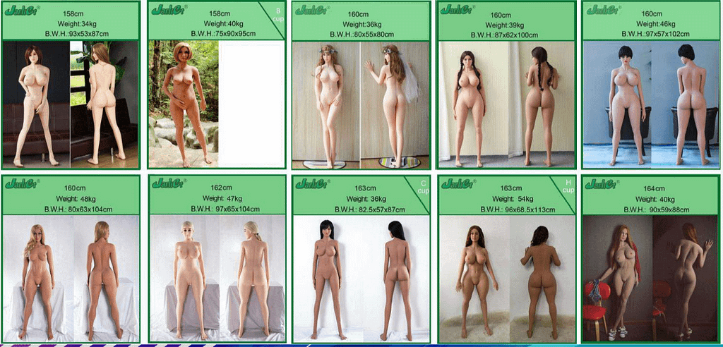 Customization Available for Jarliet Sex Dolls